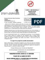 Tract Inauguration Centre de Retention[1]