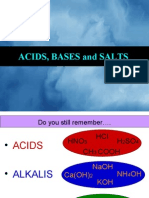 Presentation Acids and Bases