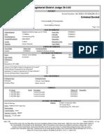Docket Sheet