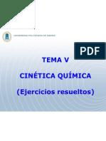 TEMA 5 Probelmas Cinetica Quimica