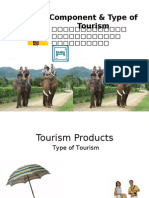 6 Component & Type of Tourism Ppt