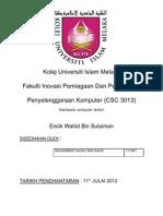 Assignment Csc 1