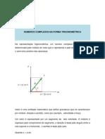 Complexos Forma Trigonometrica