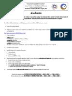 Proceso INSCRIPCION Actualizacion UNAM