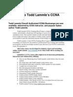 CCNA Course Outline