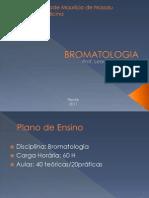 1. Introdução a Bromatologia