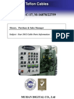 (WAC) MHD 2012 Year Cable Parts List (STD) 2012-04-16