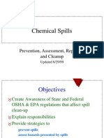 Chemical Spill Ppt