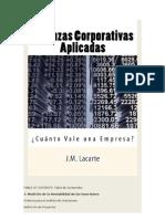 Finanzas Corporativas Aplicadas. ¿Cuánto Vale una Empresa?