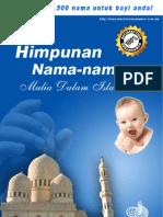Himpunan+Nama Nama+Mulia+Dalam+Islam