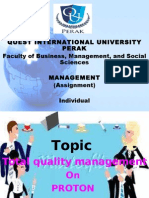 Presentation 1 management TQM