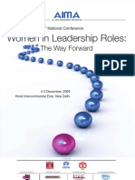 Women in Leadership Roles