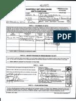 Rick Kriseman - 2012 Gifts Reported