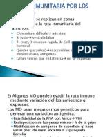 Evasión inmunitaria por los microbios- patologia