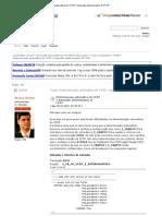 Determinação automática do CFOP _ Automatic determination of CFOP
