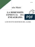 La Dimension Espiritual Del Eneagrama (maitri sandra)