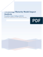 TSC Maturity Model Assessment