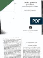 Bobbio, Norberto_Estado, Gobierno y Sociedad (Caps. 2-4)