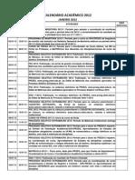 156_Calendário Acadêmico 2012 - CONSEPE - 14FEV - Capital