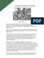 AS DOZE CHAVES DE BASÍLIO VALENTIM
