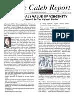 The Literal Value of Virginity (Prolife Propaganda)