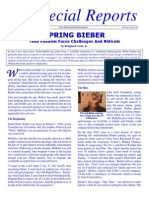 Spring  Bieber (Prolife propaganda for the young crowd)