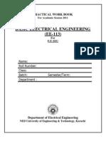 Ee-113 Basic Electrical Engineering_2011
