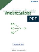 Catalogue Alkoxide