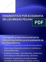 Diagnostico Por Ecografia de Las Masas Pelvianas