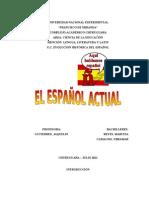 EL ESPAÑOL ACTUAL