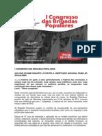 I Congresso das Brigadas Populares 2012