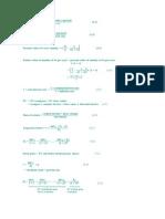 Key Equations of Finance