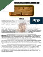 40- Puntos Sobresalientes de la Biblia Mateo 1 a 28 -(Bible Highlights Matthew)