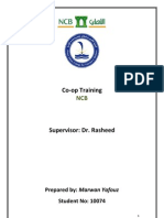CO-OP Training Report