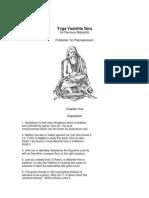Yoga Vasishta Sara