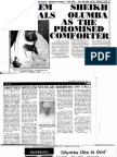 TestimoniesaboutTHE COMFORTER