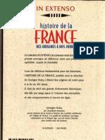 Georges Duby - Histoire de La France