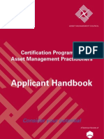 Asset Management Council 1106 3000 087 Applicants Handbook