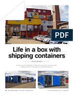 155 Container Housing