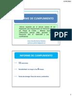 PPT - Informe de Cumplimiento
