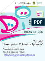 TUTORIAL Colombia Aprende -Inscrpcion 2011