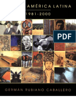 Arte en América Latina 1981-2000 - German-Rubiano