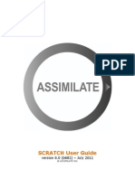 Assimilate SCRATCH User Guide Manual 6.0