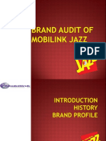 Mobilink Jazz brand audit