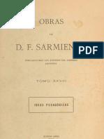 1899 - Sarmiento, D. F. - Ideas Pedagogicas