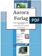 Aurora Forlag Lille Pjece Aug 2012