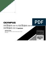 Olympus Stylus Zoom Digital Camera Model 140 Manual