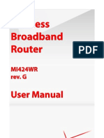 Verizon Broadband Router Model MI424WR Rev. G User Manual 30.16