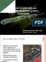 Helicobacter Pylori y Grupos Sanguineos