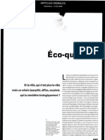 Dossier Eco Quartier